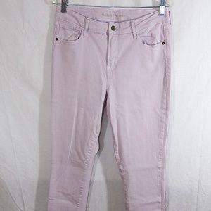 Old Navy Rockstar Lilac Skinny Jeans Size 12 Tall